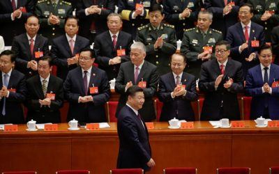 Xi Jinping heralds 'new era' of Chinese power at Communist party congress